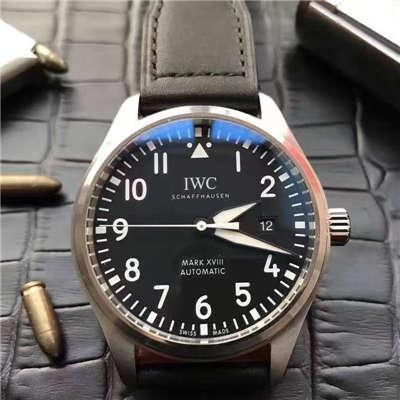 【独家视频测评MK厂超A精仿手表】万国飞行员马克十八飞行员腕表系列 IW327001腕表