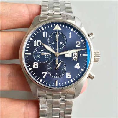 【ZF厂超A精仿手表】万国飞行员系列IW377706 小王子机械腕表《钢带款》价格报价