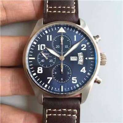 【ZF厂一比一高仿手表】万国 飞行员系列 IW377706 男士机械腕表