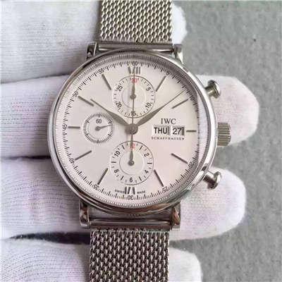 【MKS厂顶级复刻手表】万国柏涛菲诺CHRONOGRAPH计时系列 IW391009腕表