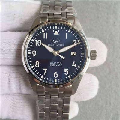 【独家视频测评MK厂1:1顶级精仿手表】万国飞行员马克十八飞行员腕表系列IW327011腕表