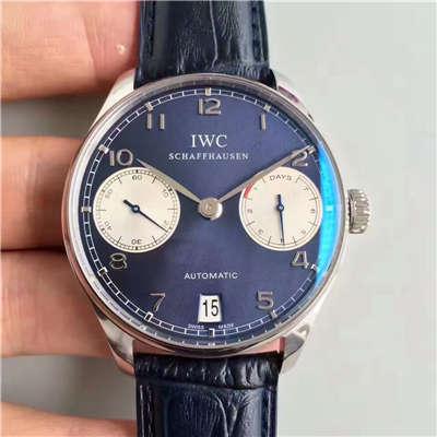 【ZF厂一比一精仿手表】万国葡萄牙劳伦斯限量版系列《万国七日链》IW500112腕表