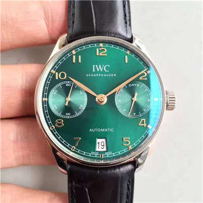 【ZF厂一比一高仿手表】 万国葡萄牙系列七日链IW500112 劳伦斯限量版腕表