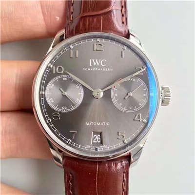 【ZF厂顶级复刻精仿手表】万国葡萄牙系列《万国七日链》IW500702腕表