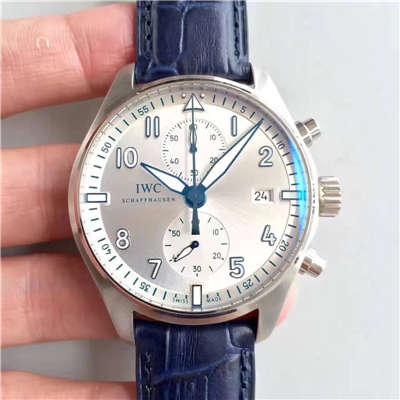 【ZF厂一比一超A高仿手表】万国 喷火战机计时 Spitfire Chronograph系列 新面 腕表