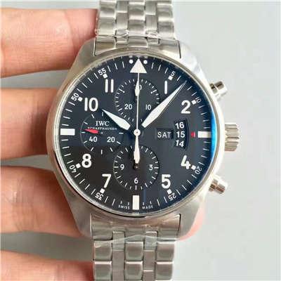 【ZF厂1:1超A精仿手表】万国飞行员CHRONOGRAPH计时腕表系列 IW377704腕表