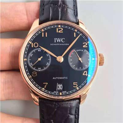 【ZF厂超A精仿1:1手表】万国葡萄牙系列《万国七日链》IW500125腕表