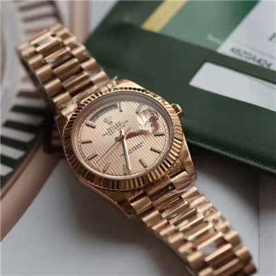 【独家视频测评EW厂一比一超A高仿手表】劳力士星期日历型系列228235-83415腕表