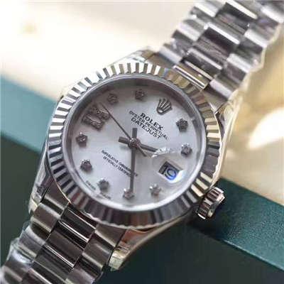 【台湾厂一比一复刻手表】劳力士新型日志型女装28mm精品女士机械价格报价