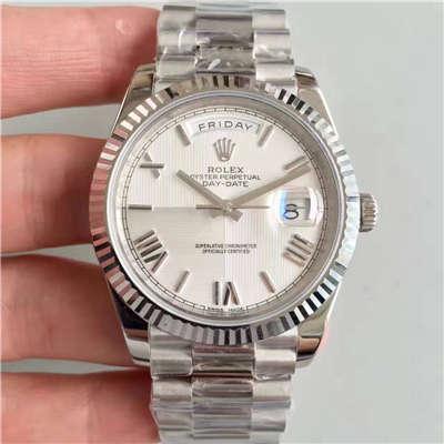 【N厂一比一超A高仿手表】劳力士星期日历型系列M228239-0046腕表