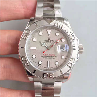 【NOOB厂1:1超A精仿手表】劳力士游艇名仕型系列116622-78760 银盘腕表