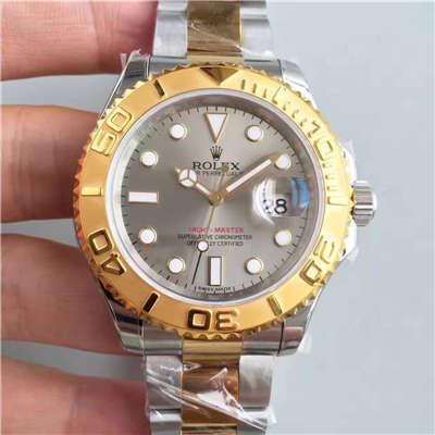 【JF厂一比一复刻手表】劳力士游艇名仕型系列16623-78763 银灰色表盘腕表