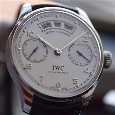 【YL厂顶级复刻手表】万国葡萄牙年历腕表系列IW503501万国年历腕表