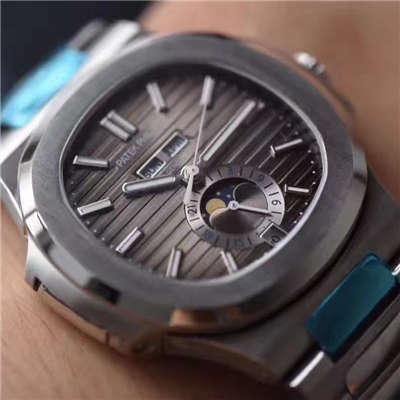 【KM一比一超A复刻手表】百达翡丽Nautilus运动系列5726/1A-001腕表