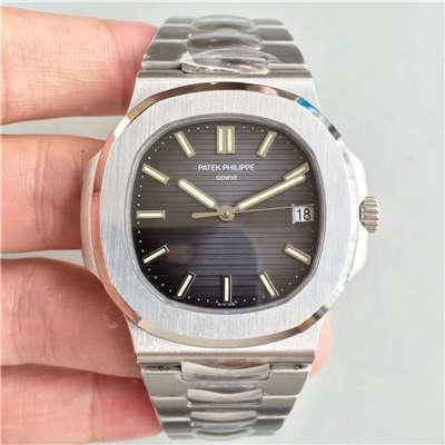 【PF一比一超A高仿手表】百达翡丽运动系列5711G 白金腕表钢带款(鹦鹉螺)价格报价