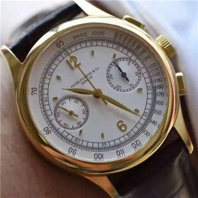 【独家视频测评台湾一比一超A复刻手表】百达翡丽复杂功能计时系列5170J-001腕表