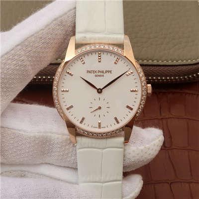 【KG厂顶级复刻手表】百达翡丽古典表系列7122/200R-001腕表