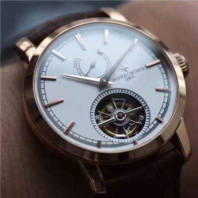 【TF厂一比一精仿手表】江诗丹顿TRADITIONNELLE马耳他陀飞轮系列89000/000R-9655腕表