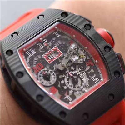 【RM厂全新升级V2版顶级复刻手表】理查德米勒男士系列RM11-03腕表