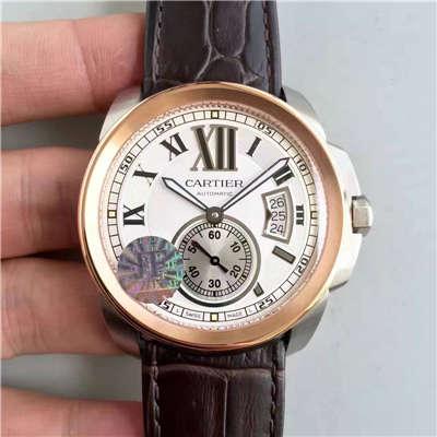 【JF厂一比一高仿手表】卡地亚 卡历博系列W7100039腕表
