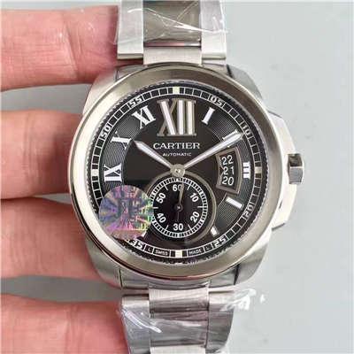 【JF厂顶级1:1复刻手表】卡地亚 CALIBRE DE CARTIER 系列 W7100016 腕表 精钢表带