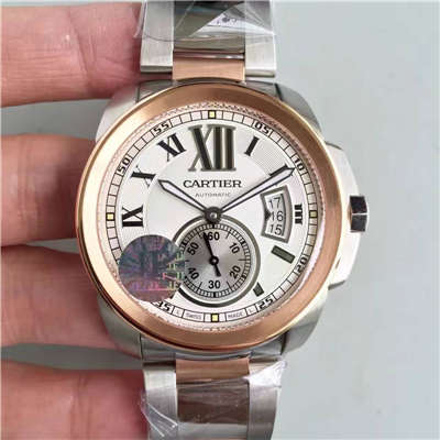 【JF厂一比一超A精仿手表】卡地亚卡历博 系列W7100036腕表