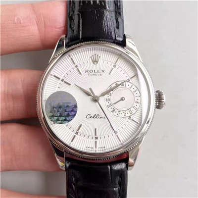 【VF厂一比一复刻手表】劳力士切利尼系列50519白盘/黑盘/玫瑰金四色可选腕表