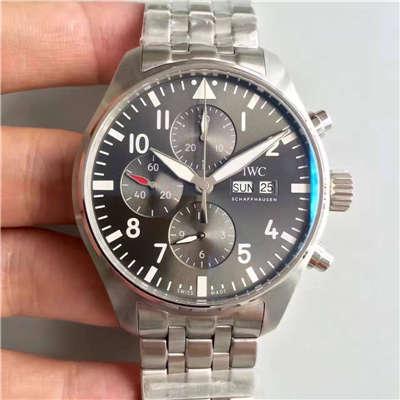 【ZF厂出品】万国飞行员系列  IW377719 喷火战机计时机械手表