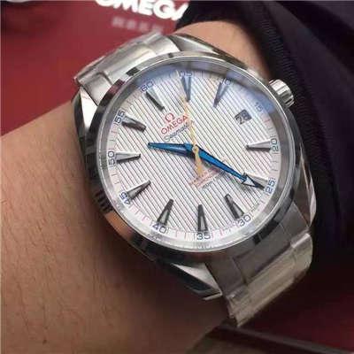 【KW厂顶级1:1复刻手表】欧米茄海马系列231.10.42.21.02.002(金针队长)男表