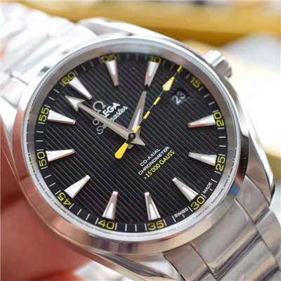 【KW厂超A精仿手表】欧米茄海马 150米系列231.10.42.21.01.002《欧米茄大黄蜂》机械手表