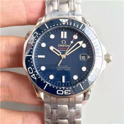 【BP厂一比一复刻手表】欧米茄海马系列 007五十週年限量版 212.30.41.20.03.001腕表