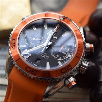 【独家视频评测KW厂1:1精仿手表】欧米茄海马系列宇宙海洋232.32.46.51.01.001男士机械腕表