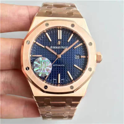 【JF厂超A高仿手表】爱彼皇家橡树系列15400OR.OO.1220OR.03腕表价格报价