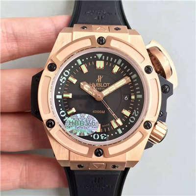【HBBV6厂1:1顶级复刻手表】宇舶王者至尊系列4000M潜水王超级大怪兽731.OX.1170.RX腕表