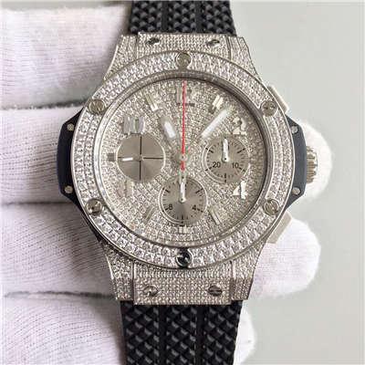 【JF厂一比一高仿手表】宇舶《恒宝》大爆炸STEEL系列341.SX.9010.RX.1704腕表
