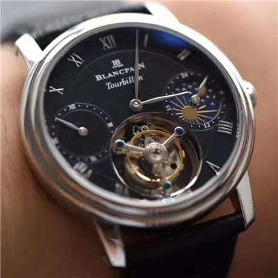 【BM厂一比一复刻手表】宝珀经典系列真陀飞轮机械腕表