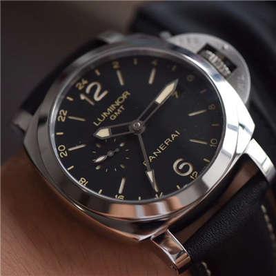 【VS一比一超A高仿手表】沛纳海LUMINOR 1950系列PAM00531 GMT 两地时区腕表