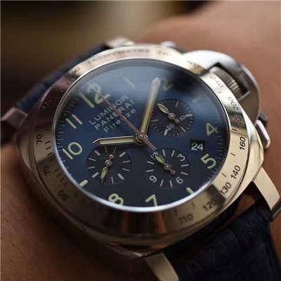 【视频解析】H厂1:1高仿手表之沛纳海PAM00224腕表《诱惑蓝面》价格报价