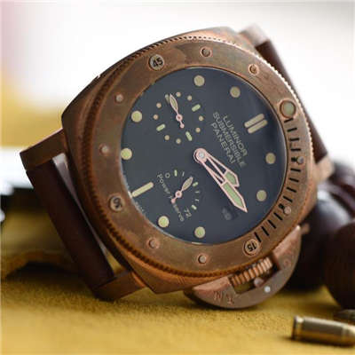 【视频评测KW厂1:1顶级复刻手表】沛纳海限量珍藏款系列PAM00507腕表《青铜神器》价格报价
