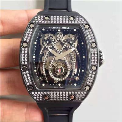 【KV一比一超A精仿手表】理查德·米勒 女士系列RM 19-01 TOURBILLON NATALIE PORTMAN腕表