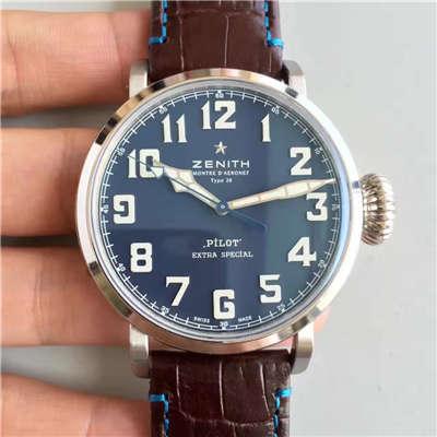 【KW厂1:1复刻手表】真利时最高版本蓝面大飞