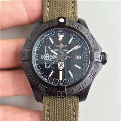 【BL一比一超A复刻手表】百年灵复仇者二代海狼限量版纪念德国战斗机版《斯瓦尔德·伯尔克Oswald Boelcke 》