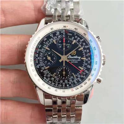 【JF一比一顶级复刻手表】百年灵蒙柏朗计时系列A2133012-B571黑盘腕表价格报价