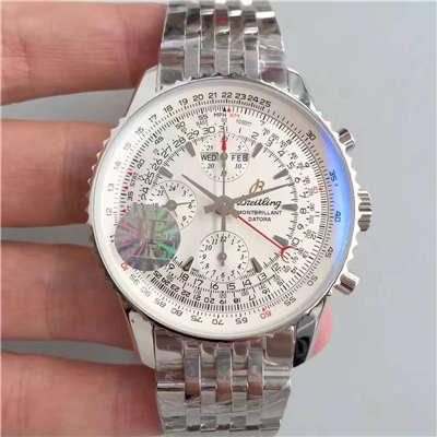 【JF一比一高仿手表】百年灵蒙柏朗计时系列A2133012-B571白盘腕表价格报价