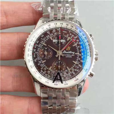 【JF一比一高仿手表】百年灵蒙柏朗计时系列A2133012-B571棕盘腕表价格报价