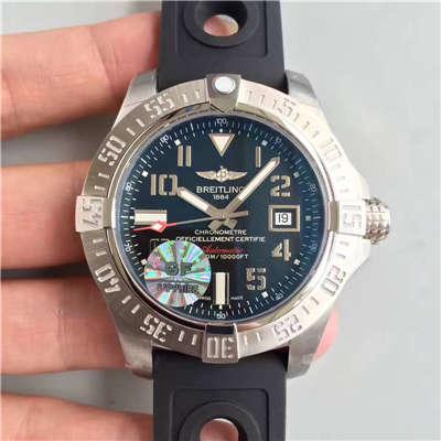 【GF游泳神器一比一超A高仿手表】百年灵复仇者深潜海狼腕表系列 A1733010/BA05腕表
