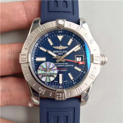【GF厂超A精仿手表】百年灵复仇者二代世界时间系列 A3239011/C872/170A腕表