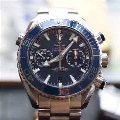 【视频测评OM厂一比一超A高仿手表】欧米茄海马系列215.30.46.51.03.001腕表