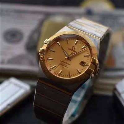 【HBBV6厂一比一超A高仿手表】欧米茄星座系列123.20.38.21.08.001腕表