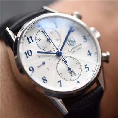 【HBBV6厂顶级复刻手表】泰格豪雅卡莱拉系列CAS2111.FC6292、CAS2111.BA0730腕表